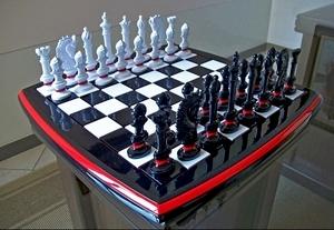 Jogo de xadrez bonito