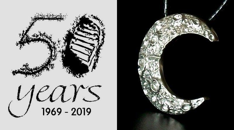 Símbolo dos 50 anos da conquista da Lua