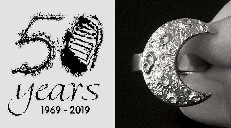 Símbolo da missão da NASA à Lua 1969 - 2019
