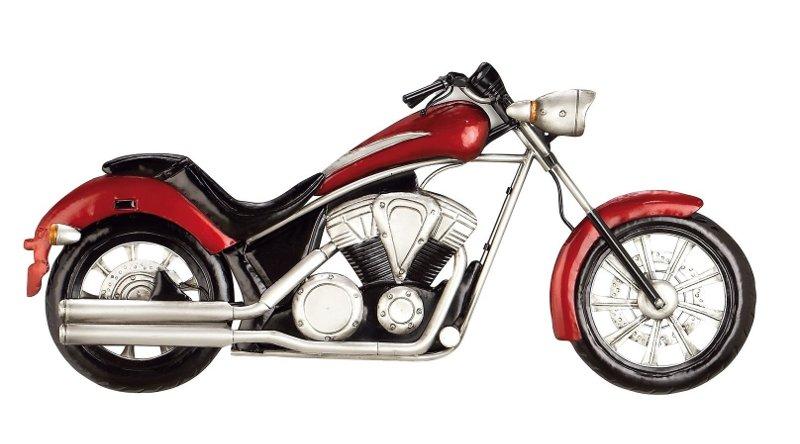 Escultura de motocicleta para paredes