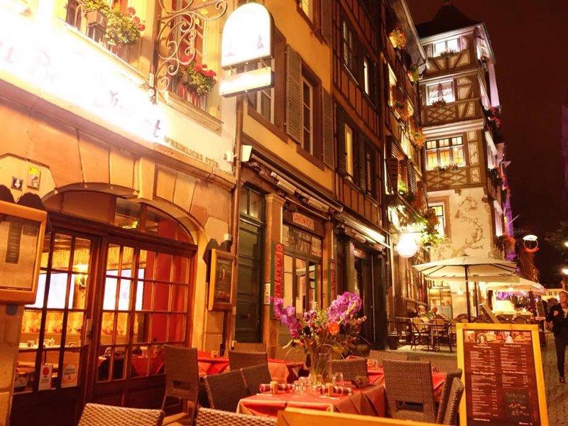 Bar e restaurante de Estrasburgo