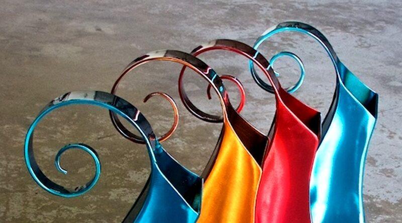 Jarras coloridas de aço inox