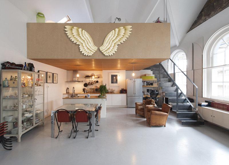 Asas de anjo para decorar igreja