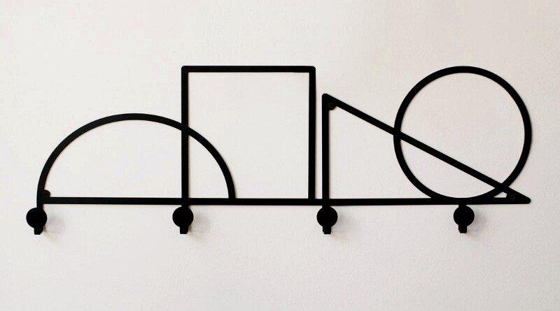 Ganchos para decoração de paredes