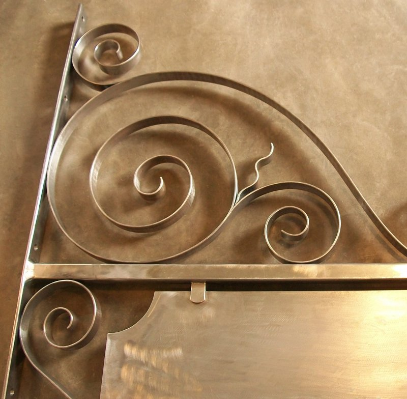 Ornamentos de ferro em espiral